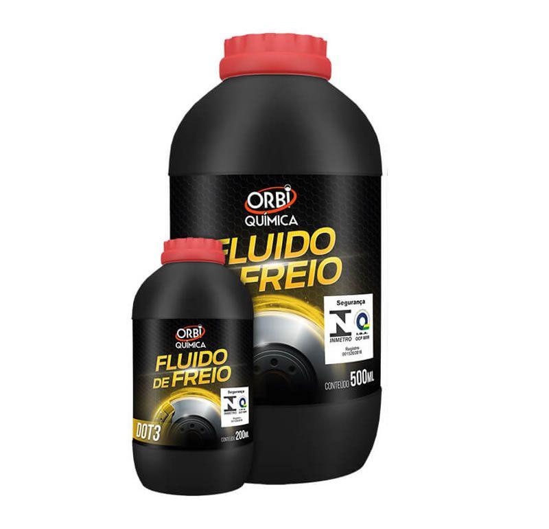 Fluido de Freio DOT3 - 200 ml